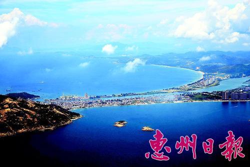 """惠东10年投9000多万护卫海岸线上""""惠州蓝"""""""