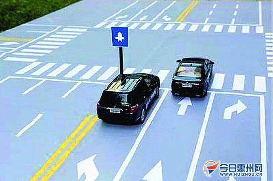 所以,对于从单行道或一些街道行驶到主干道的交叉口时就得减速慢行,让