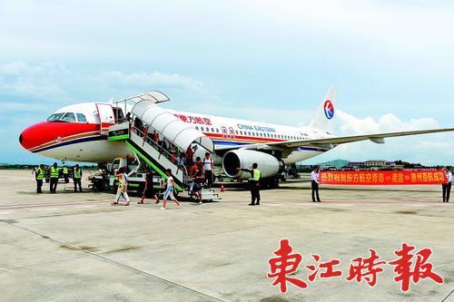 惠州机场7月份开通青岛-南昌-惠州等新航线以来,与惠州通航的城市又